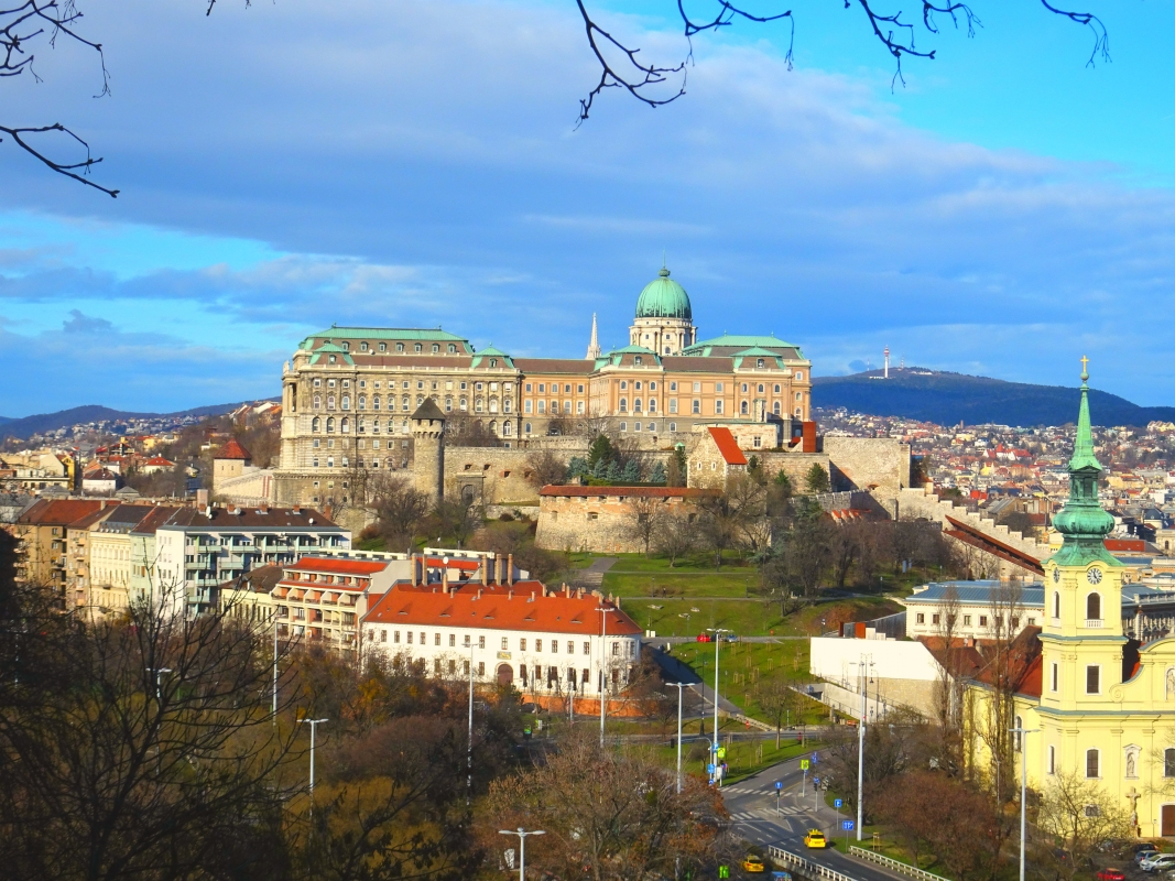 Backpacking in Budapest