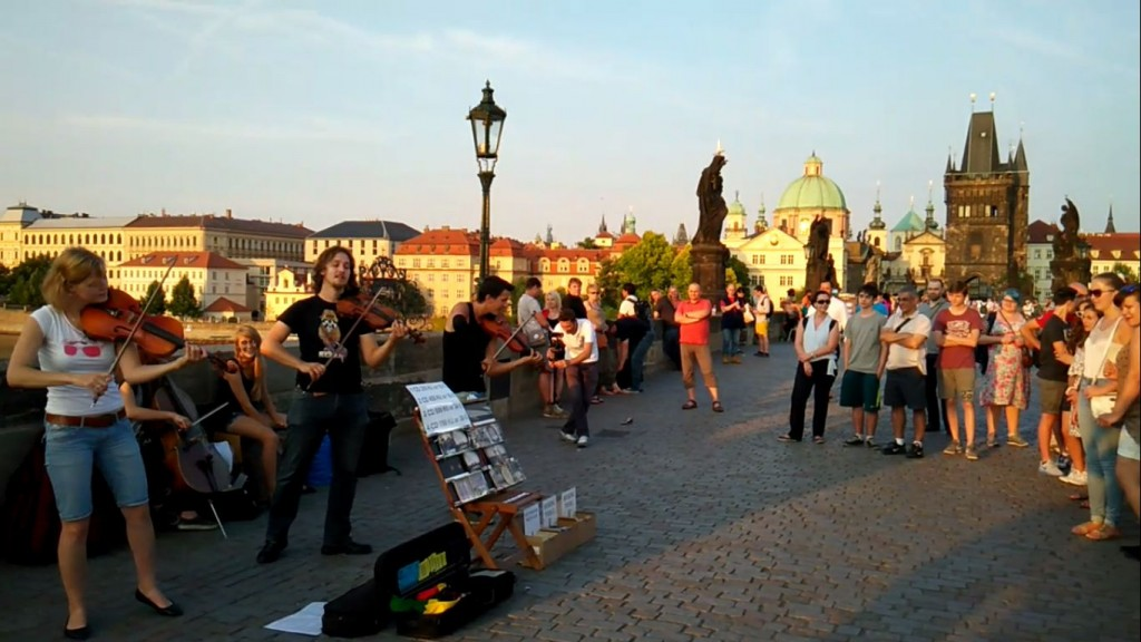 Street Music at The Charles Bridge
