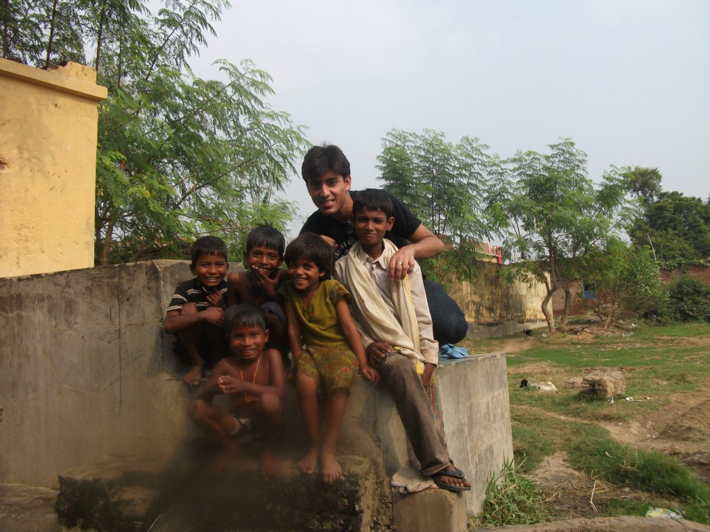 Backpacking in India