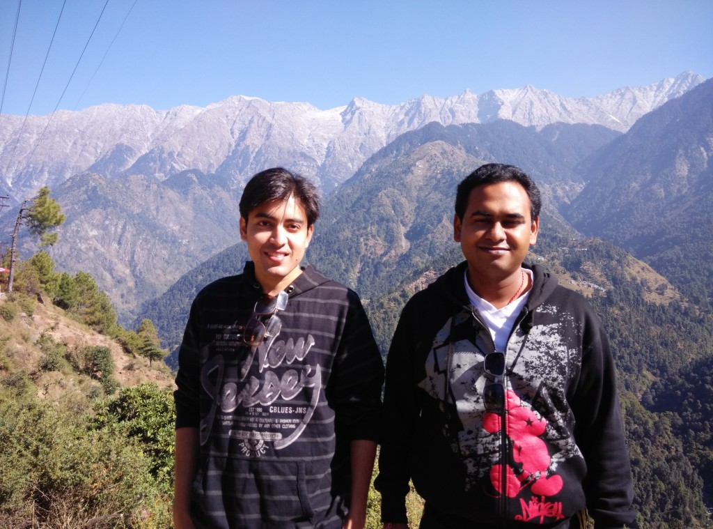 Travelling in Dharamkot, India